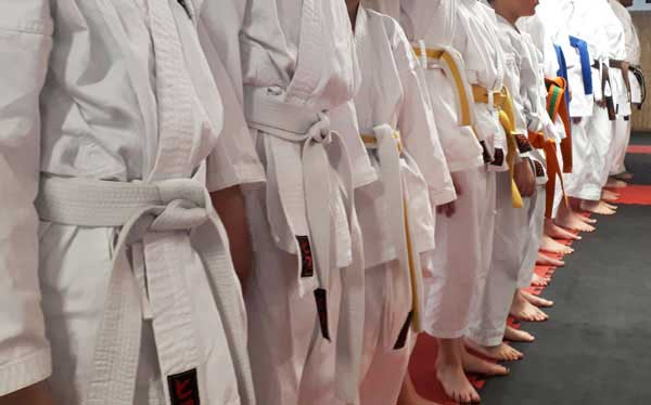 Karate-Training in Thun